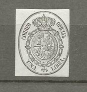 Espagne, Timbre De Service Nr YT 8 Une Livre / Una Libra, Neuf ** - Dienstpost