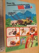 Page De Revue Des Années 60/70 : FIGURINE ANIMEE BIG JIM ET TOUTES SES COPINES    , Format : Page A4 - Leger
