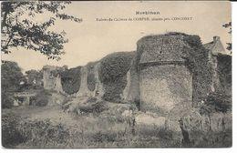 CPA - Ruines Du Château De COMPER Situées Près CONCORET - Autres Communes