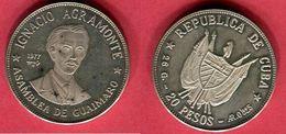 §20 PESO ( KM 38) TTB 50 - Cuba