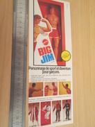 Page De Revue Des Années 60/70 : FIGURINE ANIMEE BIG JIM ET TOUTES SES COPINES    , Format : 1/2 Page A4 - Figurines