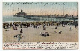 Pays-Bas--SCHEVENINGEN-1905--Plage ( Très Animée ) ..carte Colorisée ....--cachet--timbre...........à Saisir - Scheveningen