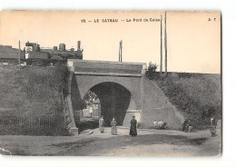 CPA 59 Le Cateau Le Pont De Guise Et Le Train - Le Cateau