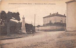Saint Etienne Des Oullières Monument Aux Morts Canton Belleville - Sonstige Gemeinden