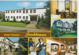 AK 0813  Hotel-Pension Stockhausen - Müschenbach-Hachenburg ( Westerwald ) - Hotels & Gaststätten
