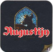 BELGIUM - Belgique - Belgien - Belgio  Beer - Bière - Bier - Birra - Cerveza COASTER MAT AUGUSTIJN SINCE 1295 UNUSED - Sous-bocks