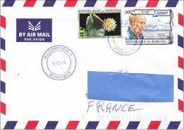 Z3] Enveloppe Cover Burundi Haroun Tazieff Volcan Etna Sicile Sicilia Volcanologue Volcanologist Géologie - Volcans