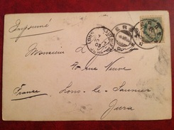 Bergen  Pour Long Le Saunier - Briefe U. Dokumente