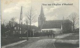 HECHTEL : Vue Sur L'Eglise - TRES RARE VARIANTE - Cachet De La Poste 1912 - Hechtel-Eksel