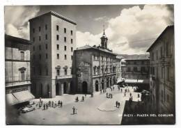 RIETI - PIAZZA DEL COMUNE VIAGGIATA FG - Rieti