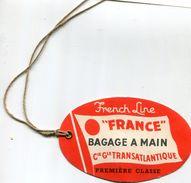 ETIQUETTE(BATEAU) FRANCE - Bateaux