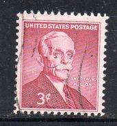 STATI UNITI 1955 , Yvert N.  608 (Un. 864)  Usato .  Mellon - Gebruikt