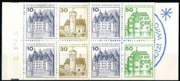 "ALLEMAGNE / GERMANY BERLIN  1982  CARNET / BOOKLET  -  "" CHATEAUX "" -  1 CARNET / BOOKLET - Carnets"