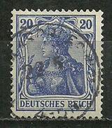 DR: Nr. 87 Ia, Geprüft, Gestempelt - Allemagne