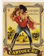 CPM Affiche De Film Spanish Posters CARTOUCHE Jean Paul BELMONDO, Claudia CARDINALE Un Film De De BROCA - Posters On Cards