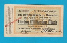 Fünfzig Milliarden Mark - 1923 Bevensen - Germany