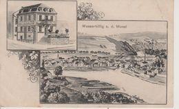 LUXEMBOURG - WASSERBILLIG - 2 VUES - RESTAURANT ZIMMER-KREMER - Postcards