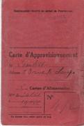 D240...CARTE D''PPROVISIONNEMENT - Maps