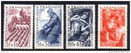 France   N° 823 à 826  Neuf  XX  MNH , Cote :  5,00 €  Au Quart De Cote - Unused Stamps