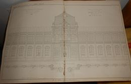 Plan De L'asile Impérial De Vincennes Pour Les Ouvriers Convalescents. 1857. - Public Works