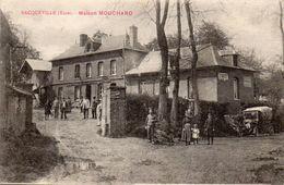 27  Bacqueville. Maison Mouchard - Frankreich