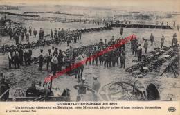 Un Bivouac Allemand Près Mouland - Le Conflit Européen En 1914 - Fourons - Voeren