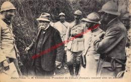 M. Clemenceau - Président Du Conseil Français - Guerre 1914-18