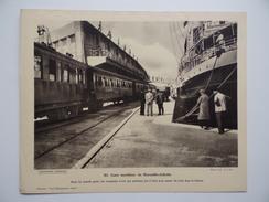 Pour L'Enseignement Vivant N°91 Wagon Matériel Ferroviaire Train Gare Maritime De MARSEILLE JOLIETTE Paquebot Postes - Géographie