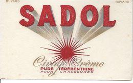 Buvard Sadol Cirage Crème Pure Térébenthine Pour Chaussures. - Scarpe