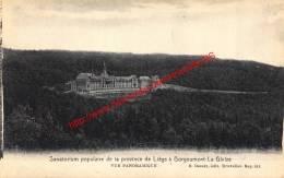 Sanatorium Populaire De La Province De Liège à Borgoumont - La Gleize - Stoumont