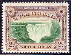 SOUTHERN RHODESIA 1935 SG 35 2d MH POSTAGE AND REVENUE Perf.12½ - Southern Rhodesia (...-1964)