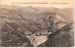 VILLEFRANCHE DE ROUERGUE Aveyron Mines De Plomb Et Zinc De La Beaume - Villefranche De Rouergue