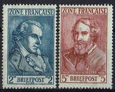 Allgemeine Ausgabe 1945 // Mi. 12,13 ** (013..705) - Zone Française
