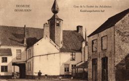 BELGIQUE - FLANDRE OCCIDENTALE - DIXMUDE - DIXMUIDEN - DIKSMUIDE - Cour De La Société Des Arbalètriers - Kruisboog...... - Diksmuide