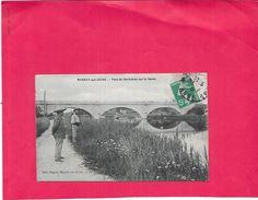 MARNAY SUR SEINE - 10 - Pont De Bernières Sur La Seine - BORD1812 - - Andere Gemeenten