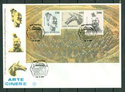 San Marino 1986   FDC  Yv Bl 13 - FDC