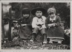 Trio Ticinese - 3 Kinder Bambini Enfants - Photo: E. Steinemann - TI Tessin