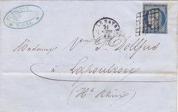 78 - CERES 4 - 21.8.50 - LE HÂVRE  -  LAPOUTROIES - 1849-1876: Classic Period