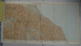TOURING CLUB ITALIANO; OLD MAP - Roadmaps
