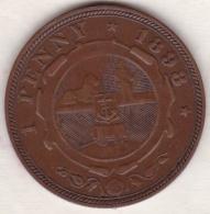 AFRIQUE Du SUD. 1 PENNY 1898. Z.A.R. PAUL KRUGER, SUP/XF - Afrique Du Sud