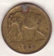 CONGO-BELGE.1 FRANC 1946 .(Éléphant) - Congo (Belga) & Ruanda-Urundi