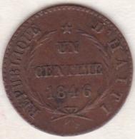 REPUBLIQUE D´HAITI . 1 CENTIME 1846 AN 43. . KM# 25.2 - Haïti