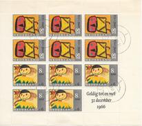 PAYS-BAS 1965 Mi.nr.: Block 3 Für Das Kind  Oblitérés / Used / Gestempeld - 1949-1980 (Juliana)