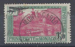 MONACO - 1933 - P. Aérienne N° 1 - Oblitéré Avec Traces De Charnière - TB - - Poste Aérienne