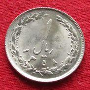 Iran 1 Rial 1979 / 1358 KM# 1232 Lt 345  Irão Persia Persien - Iran