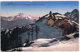 Cartolina Austriaca Lussari ( Luschariberg ) Con Mangart - Viaggiata Anni '10 - Udine