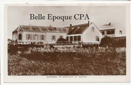 St. HELENA - Residence Of Napoleon +++++ Real Photo - Saint Helena Island