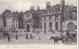 PARIS X° Rue Du Faubourg Saint Denis  PRISON SAINT LAZARE  Prison De FEMMES Animation Attelage Ecrite En 1914 - Arrondissement: 10