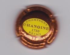 CAPSULE - PLAQUE DE MUSELET DE CHAMPAGNE - Champagne CHANOINE 1730 Reims - Placas De Cava