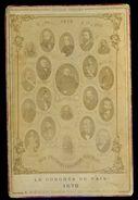Photographie 1878 Le Congrès De La Paix à Berlin Der Friedens Congress In Berlin  M1 - Documents Historiques